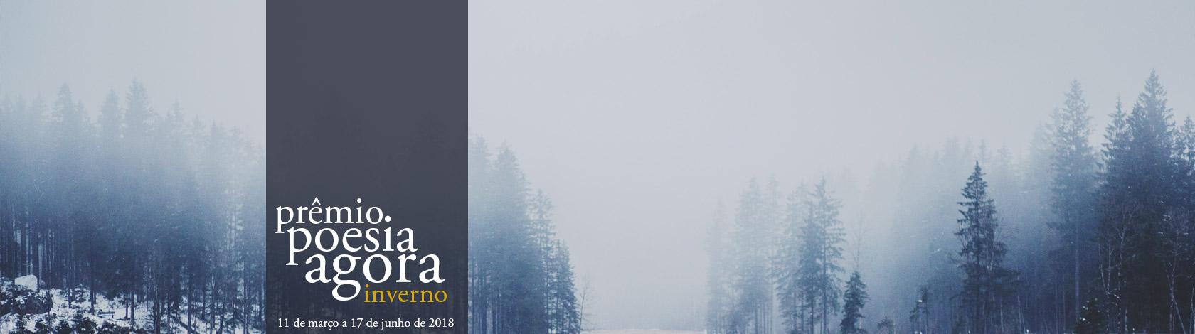 Concurso Literário Prêmio Poesia Agora - Inverno (Foto: Dominik Dombrowski)